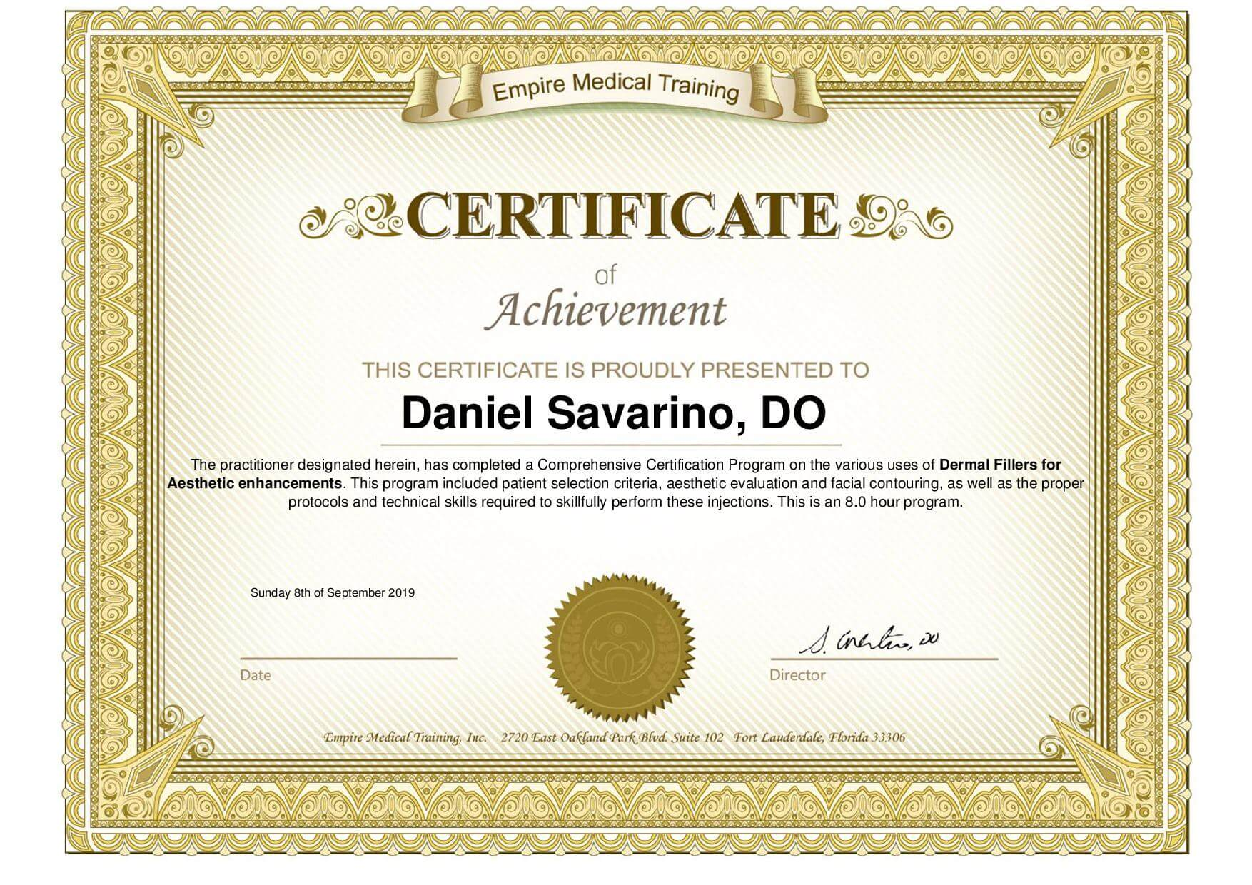 , About Dr. Savarino